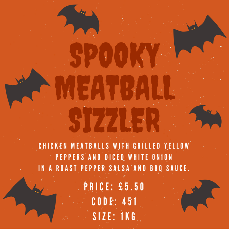 Sample our Spooky Sizzler