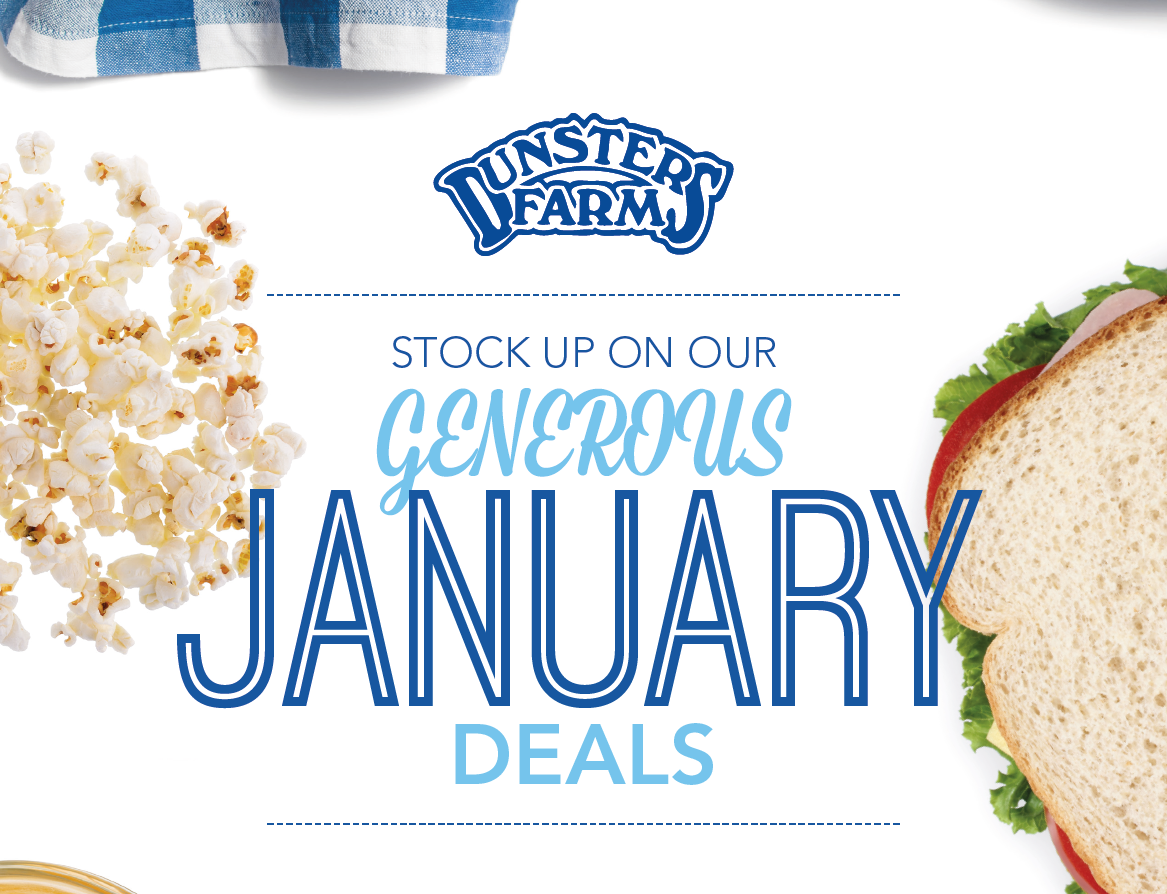 January Promo's – OUT NOW!