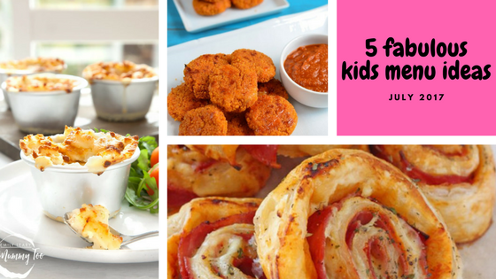 5 fabulous summer children's menu ideas