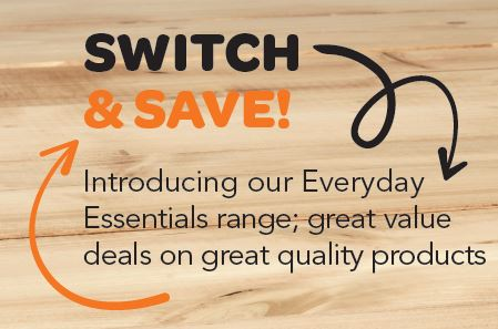 Save money with our Everyday Essentials range this March