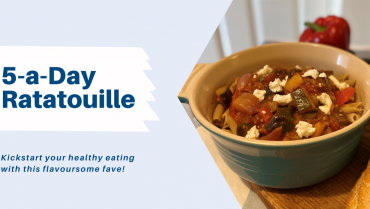 Recipe: 5-A-Day Vegetable Ratatouille Pasta with Goat's Cheese