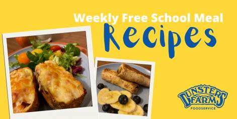 Recipes – Cheese & Ham Potato Skins and Banana Pancakes