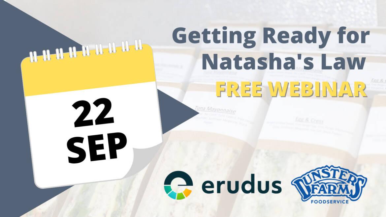 Getting ready for Natasha's Law – Free Webinar