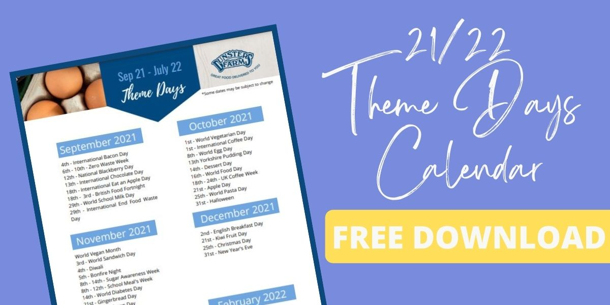 Free Download: Theme Day 21/22Calendar